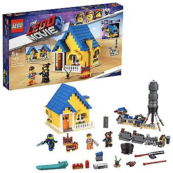 LEGO 70831 The LEGO Movie Emmet's Dream House/Rescue Rocket