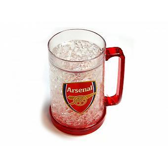 Arsenal FC virallinen jalkapallo pakastin Tankard
