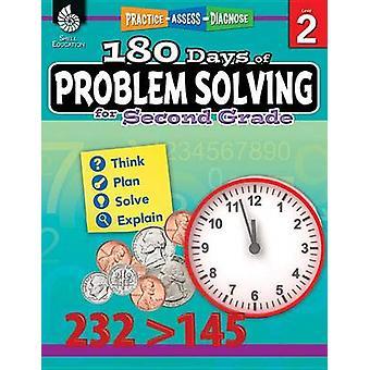180 Days of Problem Solving for Second Grade (Grade 2) by Donna Ventu