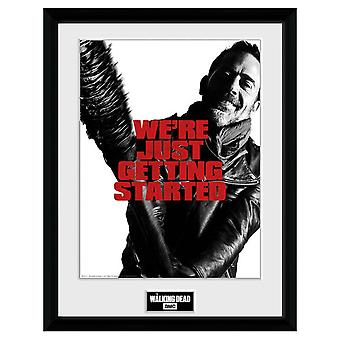 The Walking Dead Negan 16 x 12 Picture