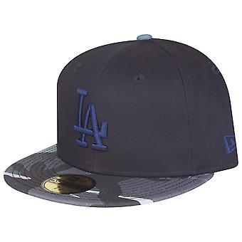 Nieuwe era 59Fifty uitgerust Cap - Los Angeles Dodgers Marine camo