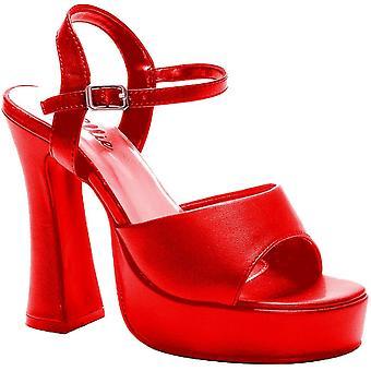 Platform Lea Red Size 9