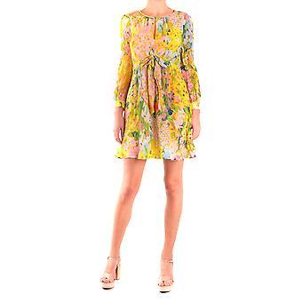 Moschino Ezbc015029 Women's Multicolor Viscose Dress