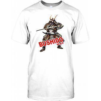 Samurai-Krieger mit Schwert - Bushido Weg Kinder T Shirt