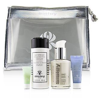 Viikon lopun must-haves Set: ekologinen yhdiste 60ml + lempeä meikki Remover 100ml + Express Kukka geeli 10ml + silmän ympärys