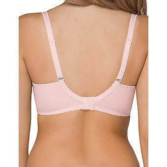 Nipplex Women's Samanta Pink Lace Plus Size DD+ Support Full Cup Bra