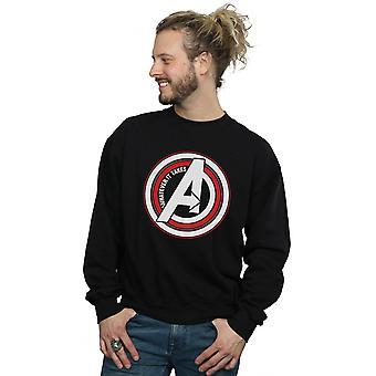Marvel Men's Avengers Endgame Whatever It Takes Symbol Sweatshirt