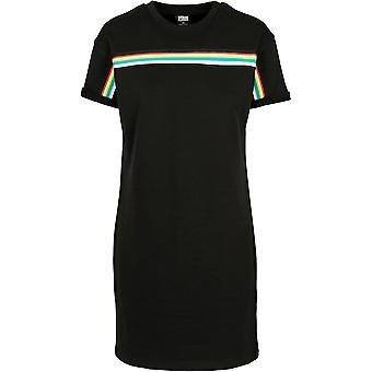 Urban Classics Women's Sweat Dress Multicolor Taped Terry