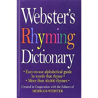 Webster's Rhyming Dictionary by Merriam-Webster - 9781680651911 Book