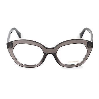 Balenciaga BA 5060 020 51 hexagonal cat Eye eyeglasses rame