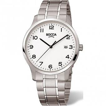 Boccia Titanium 3620-01 Miesten Watch