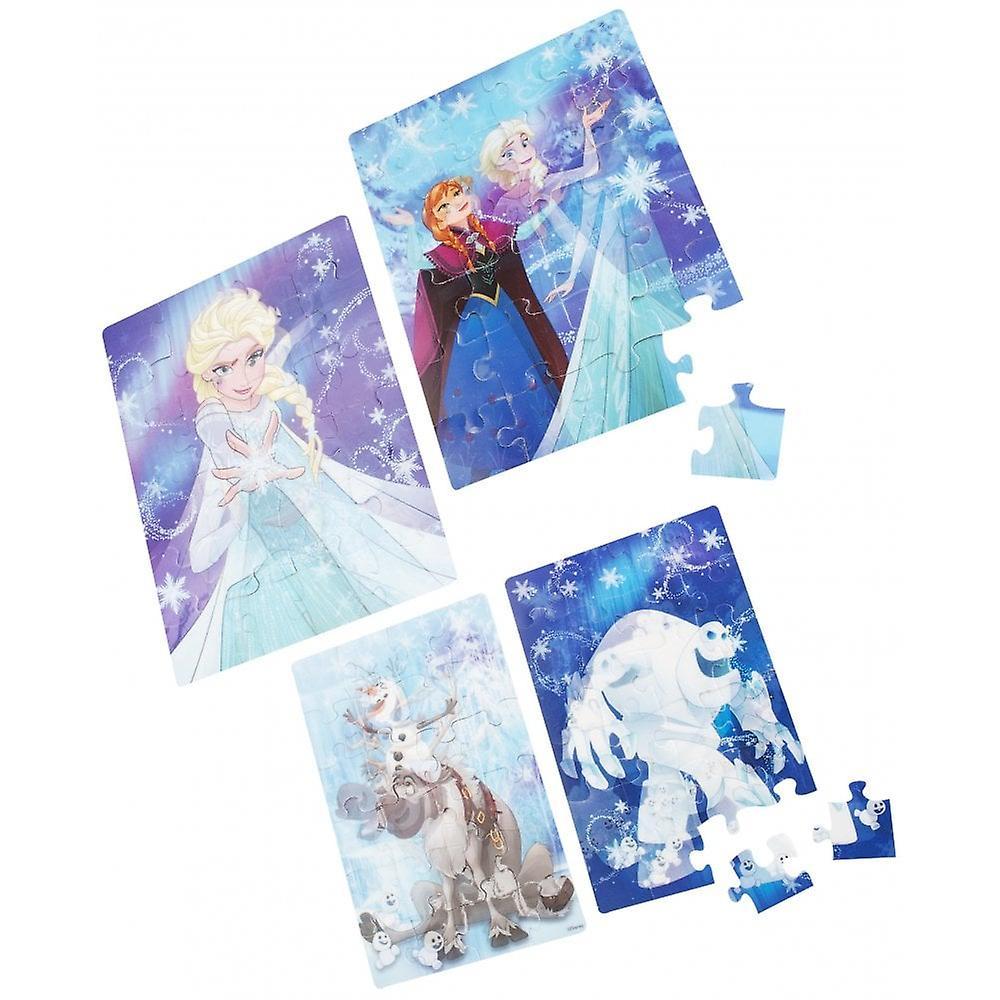 Disney Frozen Frozen 4 Pack Super 3D Jigsaw Puzzle Set