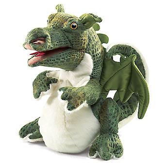 Hand Puppet - Folkmanis - Dragon Baby New Animals Soft Doll Plush Toys 2886