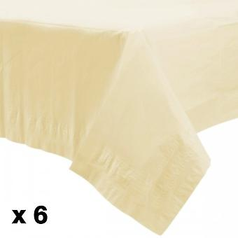 Amscan Lined Plastic Tablecovers