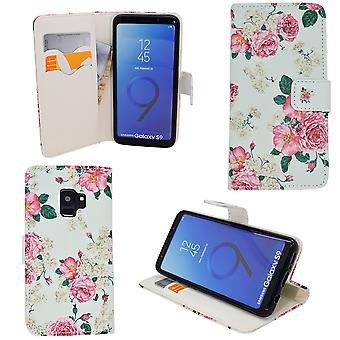 "Samsung Galaxy S9 Plus - Plånboksfodral - ""rosor"""