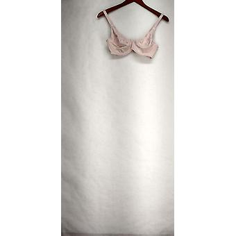 Q-T Intimates Soutien-gorge 36B Facile amovible Fil Nunder-apos;Wire Nursing Bra Pink