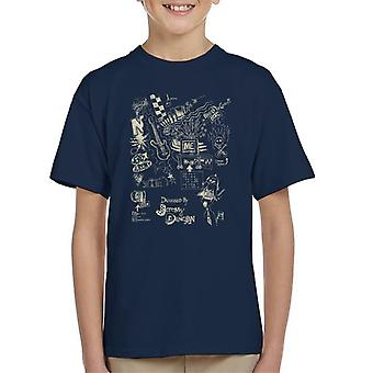 Zits Light Biro Doodles Kid's T-Shirt