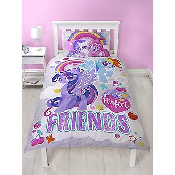 My Little Pony Unicorn Crush Påslakanset Bäddset Sängkläder 135x200+48x74cm
