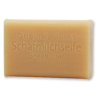 Sabonete de leite de ovelha florex-manteiga de karité-cuidados com a pele doce cremoso com óleos perfumados 100g
