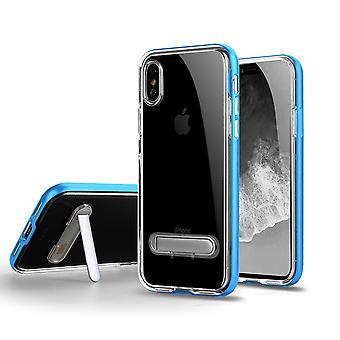 TPU Case with telephone stand + 2pcs screen protector iPhone X/XS