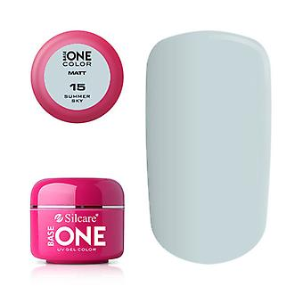 Base one-Matt-Summer Sky 5g UV Gel
