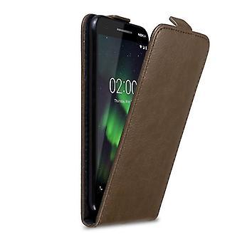 Cadorabo Hülle für Nokia 2.1 2018 Case Cover - Handyhülle im Flip Design mit Magnetverschluss - Case Cover Schutzhülle Etui Tasche Book Klapp Style