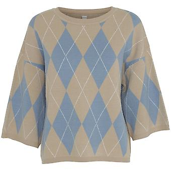 SOYACONCEPT Soyaconcept Faded Blue Sweater 32782