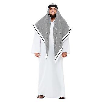 Mens volwassenen Deluxe nep Sheikh Arabische Fancy Dress kostuum