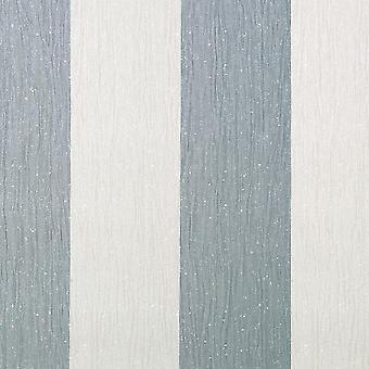 Glitter Stripes Wallpaper Black Silver Grey Shimmer Crystal Shine Vinyl