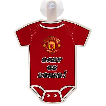 Manchester United FC Baby On Board Sign