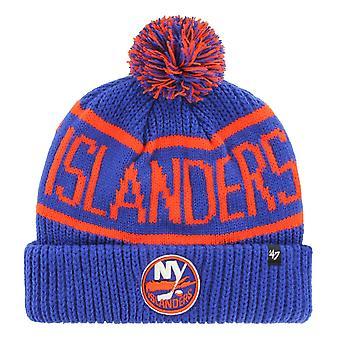 47 Brand Knit Winter Hat - CALGARY New York Islanders