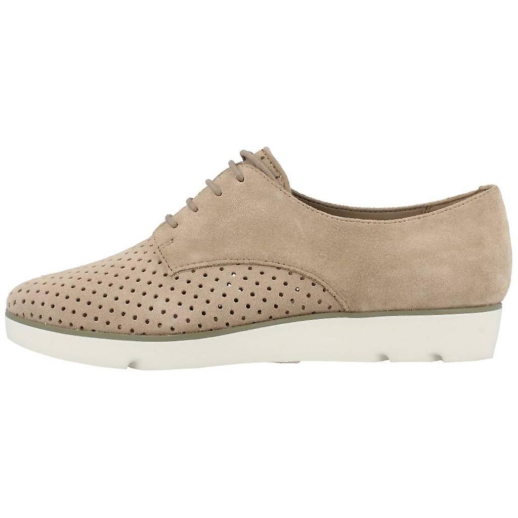Chaussures Décontractées Clarks Evie Bow Color Sand