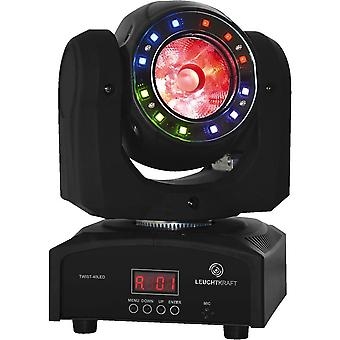 Leuchtkraft Twist-40led Moving Head With Effect Ring