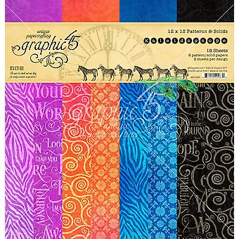 Graphic 45 Double - Sided Paper Pad 12