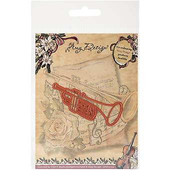 Find It Trading Amy Design Vintage Christmas Die-Trumpet
