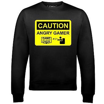 Sweat-shirt de joueur en colère de Men-apos;s