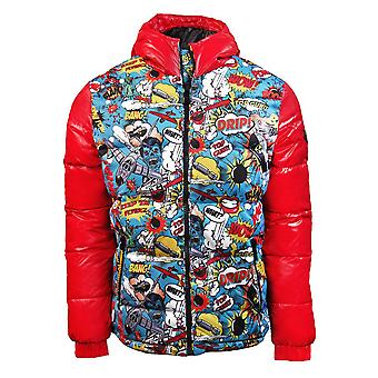 Top Gun Comics Down Jacket Red