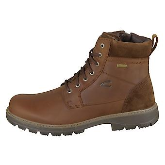 Camel Active Scandinavia Gtx Chestnut Crazy Horse Oil Suede 3641912 universal all year men shoes