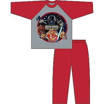 Kids Angry Birds Star Wars Cotton Character Pyjamas Pajama Sleepwear 5-6 Years