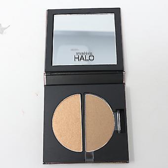 Smashbox Halo Glow Highlighter Duo Golden Bronze 0.17oz/5ml New In Box
