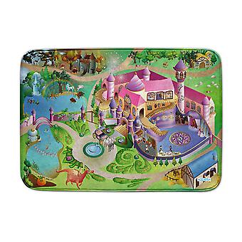 Achoka Princess Castle Ultrasoft Playmat 70 x 95cm For Toddlers