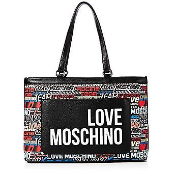 الحب موسكينو Jc4089pp1a فضة حقيبة حمل (فضة) 12x26x40 سم (W x H x L)