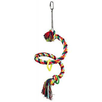 Trixie Spiral Rope Perch (Birds , Bird Cage Accessories , Perches & Posts)