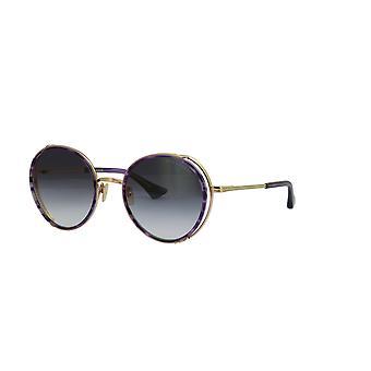 DITA Lageos DTS532 02 Dark Lavender White Gold/Dark Grey Sunglasses