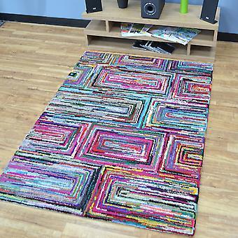 Katoen Chindi Galaxy veelkleurige tapijten 01
