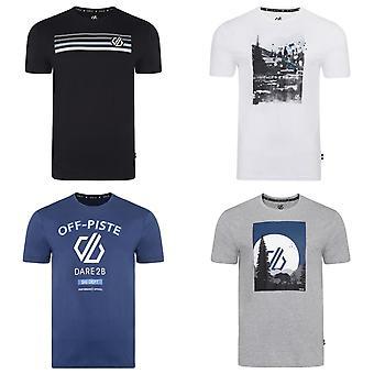 Dare 2B hombres Strife Graphic Print camiseta