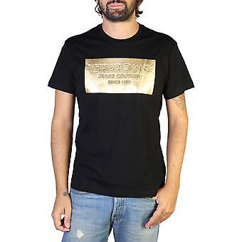 Versace Jeans Original Män Året T-shirt - Svart Färg 35598