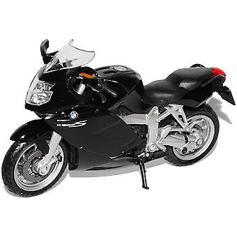 Welly  BMW K1200S Black Motorbike   1:18