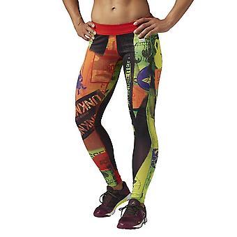 Reebok Rcf Chase Tight Primed AP9611 crossfit ympäri vuoden naisten housut