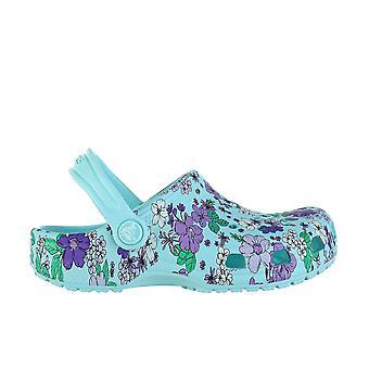 Crocs Classic Floral Clog 2061464O9 universal summer kids shoes